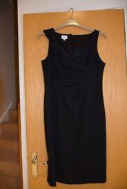 Kaliko Size 14 Black Dress.