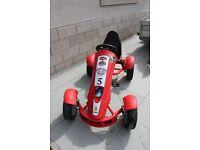 BERG FERRARI FXX RACER GO KART - AS NEW HARDLY USED