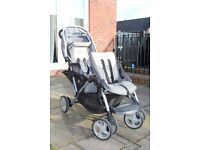 Double buggy pushchair stroller - Graco Duo