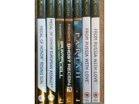 7x Orignal Xbox Games 007, Medal of Honor, Tom Clancy's Ghost recon 2, James Bond 007 & Pariah.
