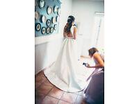 Beautiful Jesus Peiro wedding dress (size UK8)