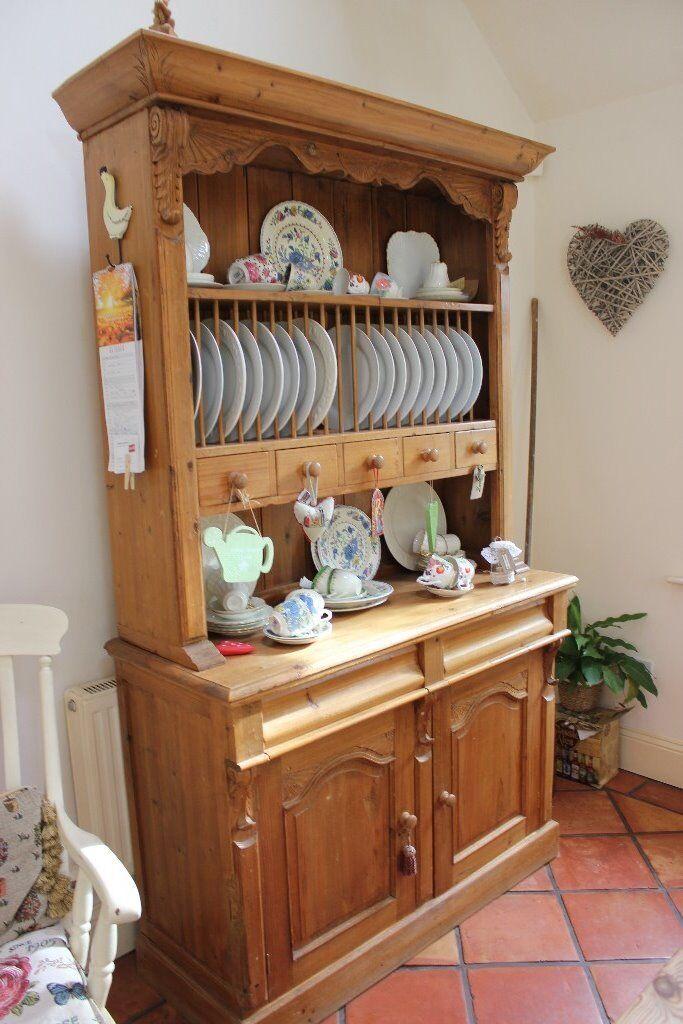 Kitchen Dresser Old Pine