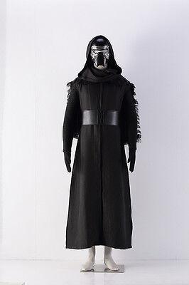 Star Wars Kylo Ren Ben Solo Film Cosplay costume Kostüm Mask Maske Halloween (Kylo Ren Cosplay Kostüm)