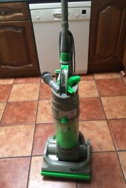 Dyson DC04 Green Vacuum Cleaner, unused since Dyson Engineers Serviced it Damage to handle top
