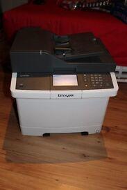 Lexmark CX410de A4 Colour Multifunction Laser Printer
