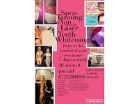 Kelly's mobile Spray Tanning & Teeth whitening