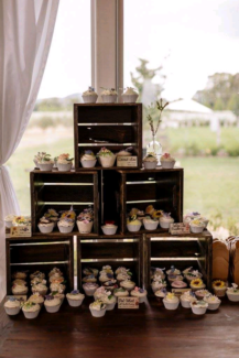 Vintage Crates For Hire- Cupcake stand / WEDDINGS / BIRTHDAYS