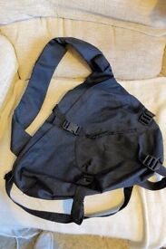 Rucksack Type Bag with Shoulder Strap & Waist Strap, Black, Unused, Very Good Condition, Histon