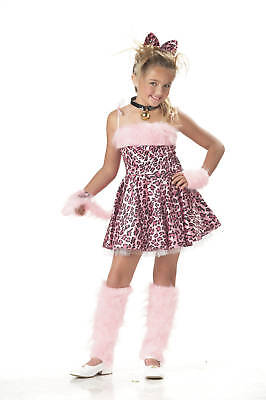 Kitty Sassy Leopard Cat Animal Child Costume