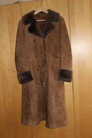 Ladies Morlands Lambswool Coat - Calf Length