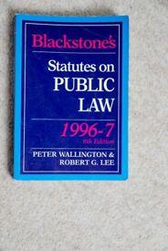 3 Misc. Law Textbooks #6