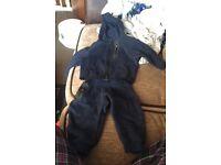 Infant Blue Nike tracksuit