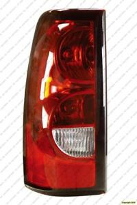 Tail Lamp Driver Side Old Style Model High Quality Chevrolet Silverado 2004-2006