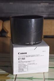 Genuine Canon hood for EF 135 f/2 lens