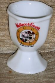 Wallace & Gromit Collectors Egg Cup for Your Breakfast Egg, Histon