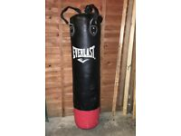 Everlast Punch Bag and hanging bracket fixing