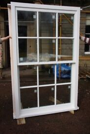 Double glazed traditional sash and case windows made to measure.