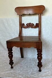 Lovely antique hall chair