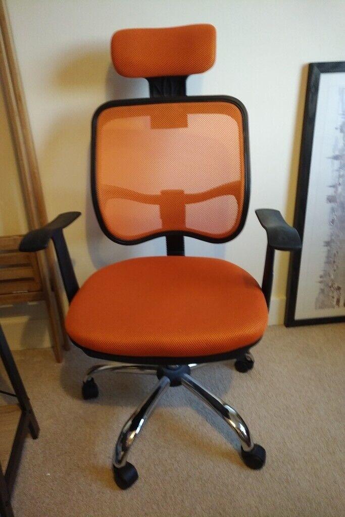Swell Office Desk Chair On Wheels In Romford London Gumtree Best Image Libraries Weasiibadanjobscom