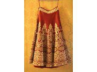 Anju Modi Original lehenga £2500 DOWN TO £649 !!!