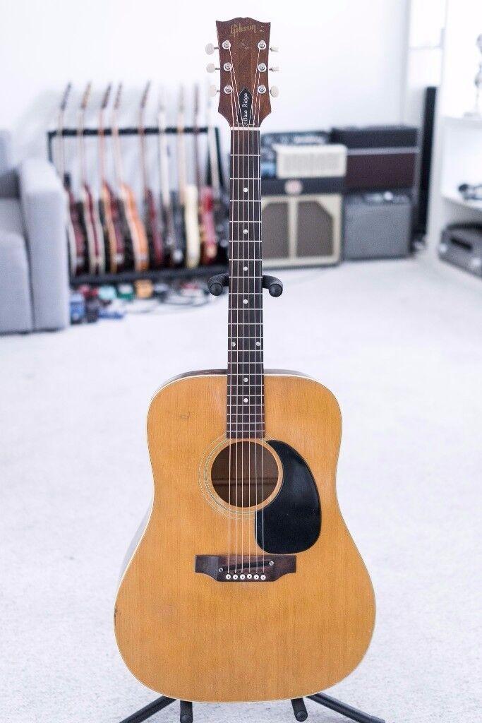 1969 Vintage Gibson BluRidge acoustic guitar