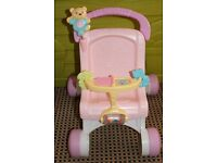 Fisher-Price stroll along musical walker in good cond.