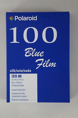 Polaroid Type 100 Blue Silk Instant Film Paul Giambarba   -