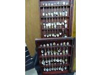 A large selection of Silver plated Commemorative spoons. All in good condition.