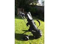Golf clubs full set with bag and trolley