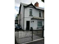 Finaghy/Upper Lisburn Road. 3 bed Semi. great for small family or Profs. Great Location
