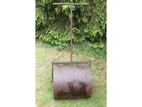 Vintage Cast Iron Garden Roller