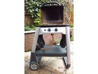 Outback Double Burner Barbecue. Gas & coals not included