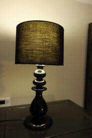 Table lamp - black