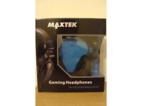 Maxtek Gaming Headphones PS4 / PS3 / XBOX 360 / PC