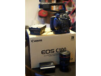 Canon C100 & EF 24-105mm Lens