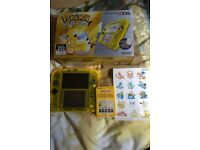 Limited edition 2DS Pokemon yellow edition