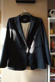 M&S Jacket Single Button Crepe Blazer