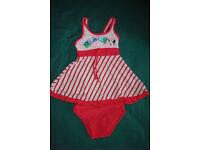 Girl's swimming costume