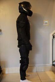 Shark Carbon Helmet ,Italian Leather Jacket,Trousers , winter gloves(worth £700)