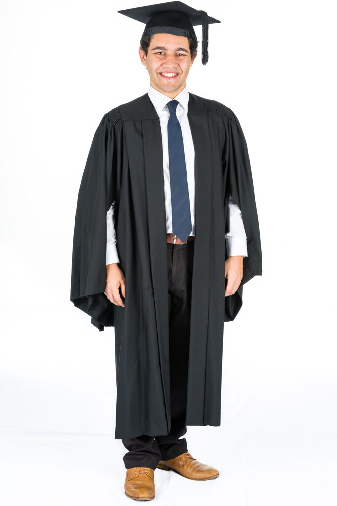 BACHELOR GRADUATION GOWN UNIVERSITY ACADEMIC GOWN CAMBRIDGE ACADEMIC ...