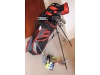 Set of Wilson Golf Clubs, Bag, trolley and accessories.