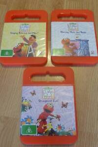 3 x Elmo's World DVD's Craigmore Playford Area Preview