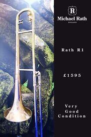 Rath R1 Tenor Trombone and case