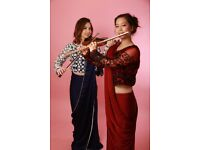 Violinist and flautist/pianist for your events!