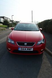 seat leon SE TECH PACK £0 road tax. sat nav. led lights, fog lights LOW MILAGE