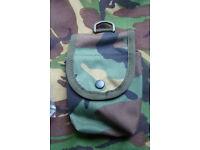 Arktis FFD (Field Dressing) Webbing Pouch in US Woodland Camo (NEW)