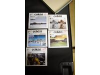 5 Cokin filters: P121M, P131, P056, P005, P125, with 72mm holder