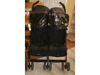 Maclaren Techno Twin/Double Pushchair
