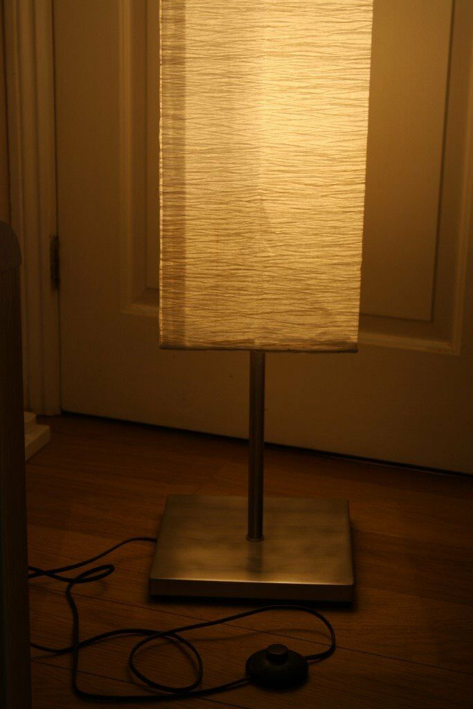 Home Square Paper Shade Floor Lamp Lighting Lamps