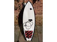 """Surf board. 4th boards speed fish 6'3""""long used once."""
